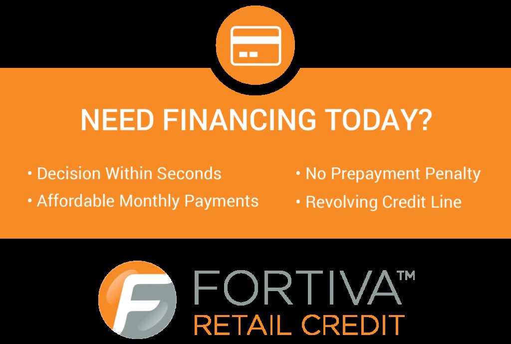 Fortiva Financing Banner